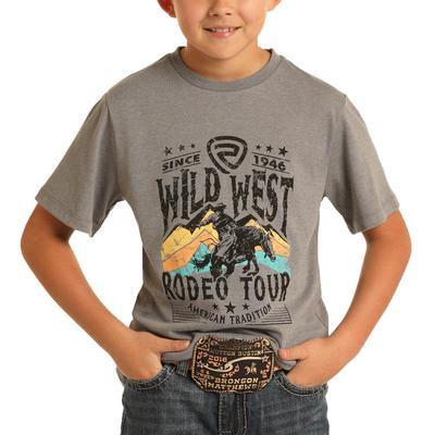Panhandle Boy's Wild West Graphic T-Shirt