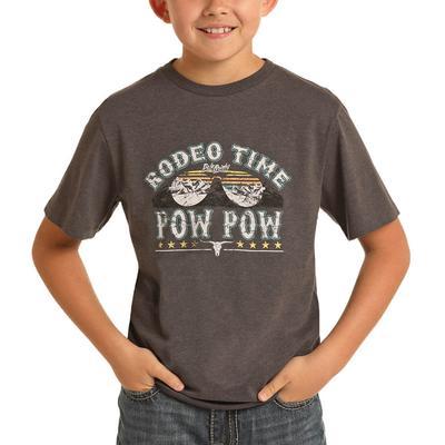 Panhandle Boy's Rodeo Time Pow Pow Graphic T-Shirt