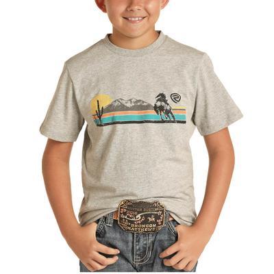 Panhandle Boy's Desert Bronc Graphic T-Shirt