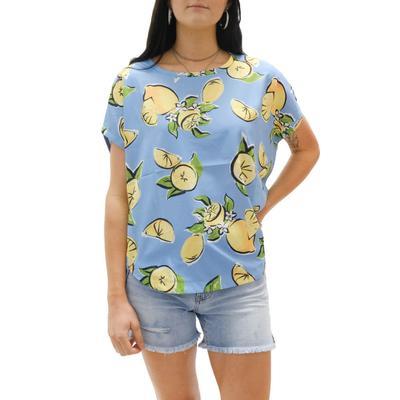 Joy Joy Women's Lemon Fashion Top