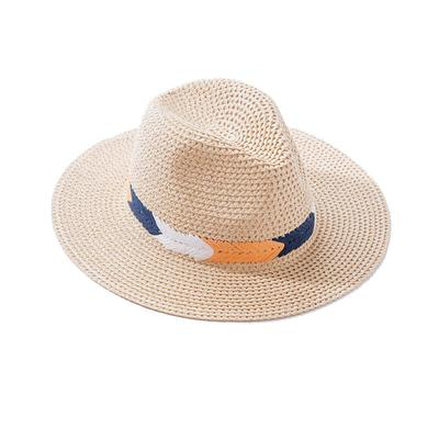 Women's Weaved Boho Panama Straw Hat
