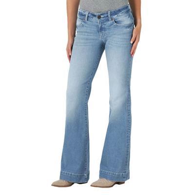 Wrangler Women's Harper Mid Rise Trouser Jeans