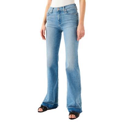 7 For All Mankind Women's Dojo Released Trouser Jeans