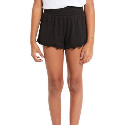 Z Supply Girl's Emery Ruffle Shorts