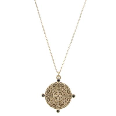 Jane Marie Women's Gold San Benito Necklace