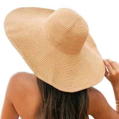 Women's Floppy Beach Straw Hat