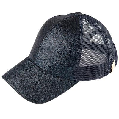Youth Sparkly Ponytail Cap