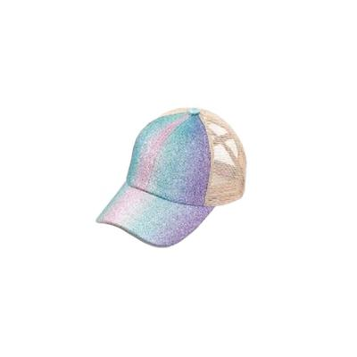 Girl's Sparkly Ponytail Cap