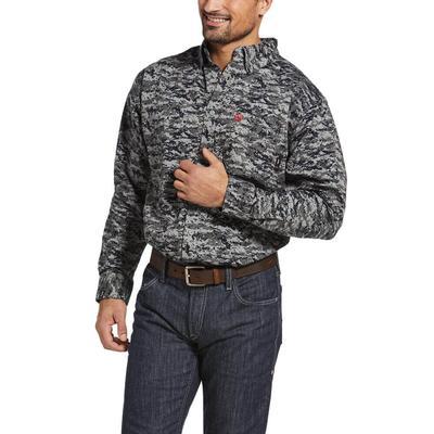 Ariat Men's Fire Resistant Patriot Button Down Work Shirt