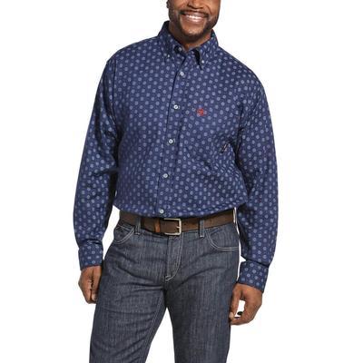 Ariat Men's Fire Resistant Sterling Button Down Work Shirt