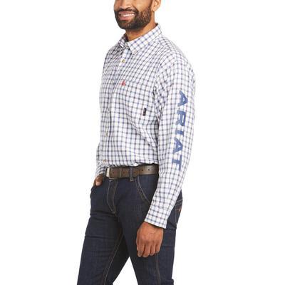 Ariat Men's Fire Resistant Franco Button Down Work Shirt