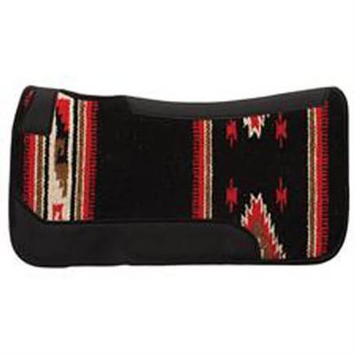 Contoured Wool Blend Felt Single Weave Saddle Pad BU/TQ