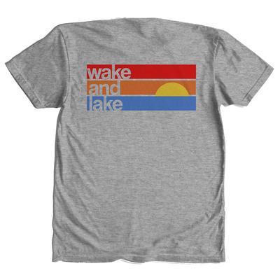Tumbleweed Texstyles Men's Wake and Lake T-Shirt