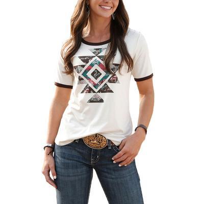Cruel Girl Women's Aztec Graphic T-Shirt