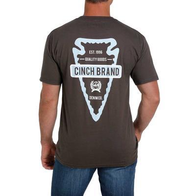 Cinch Men's Branded Arrowhead Graphic Tee