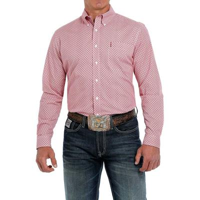 Cinch Men's Modern Fit Plaid Button Down