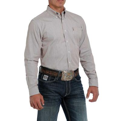 Cinch Men's Neutral Modern Fit Button Down