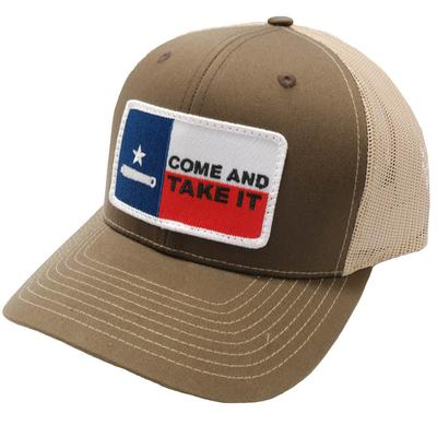 Dally-Up Men's Tan Come And Take It Cap