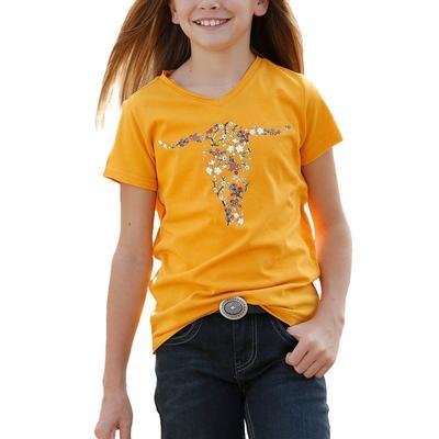 Cruel Girl Yellow Graphic T-Shirt