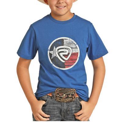 Panhandle Boy's Texas Flag Brand Graphic T-Shirt