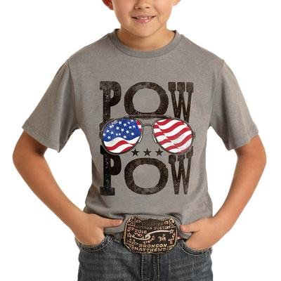 Panhandle Boy's Pow Pow Graphic T-Shirt
