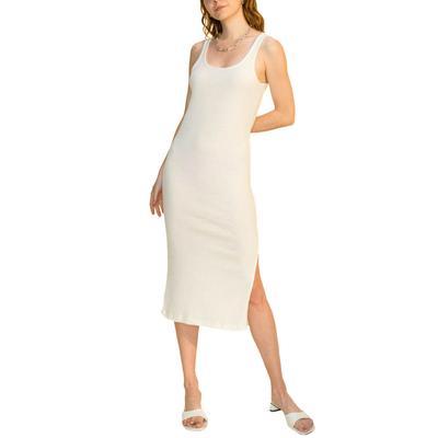 Hyfve Women's Side Slit Midi Dress