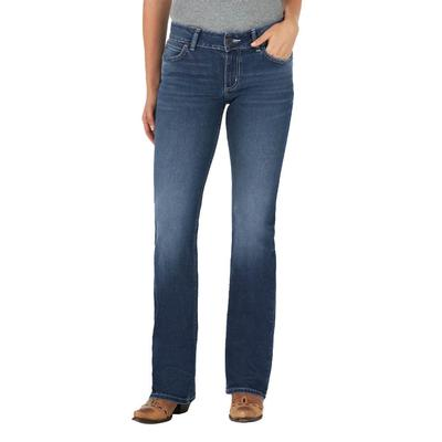 Wrangler Women's Julian Mid Rise Bootcut Jeans