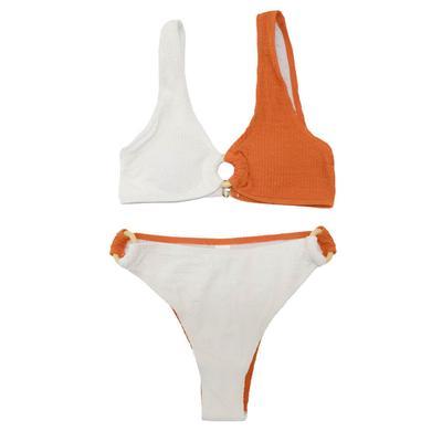 Women's Color Blocked Bikini Set