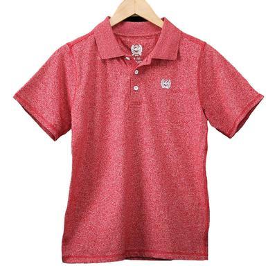 Cinch Boy's Red Polo Shirt