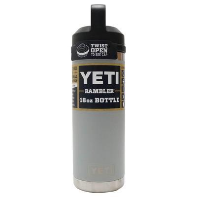 Yeti Rambler 18 OZ Bottle With Chug Cap GRANGRY