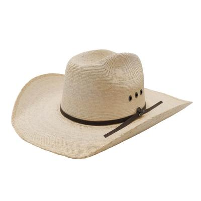 Ariat Men's Natural Palm Straw Hat