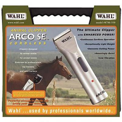 Wahl Arco Cordless Clippers With Battery And Case