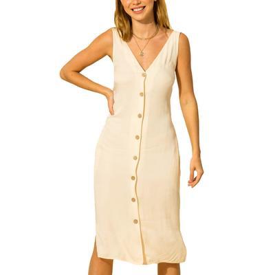 Hyfve Women's Sleeveless Button-Down Dress