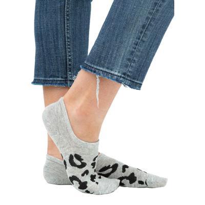 Women's Non-slip Leopard Print Sneaker Socks
