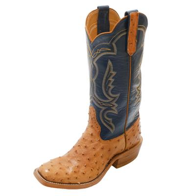 Rios of Mercedes Men's Mad Dog Ostrich Western Boots
