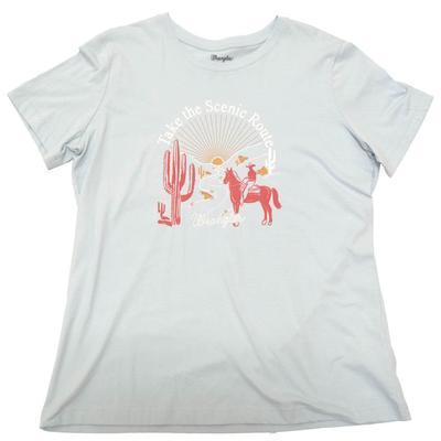 Wrangler Women's Scenic Route Graphic T-Shirt