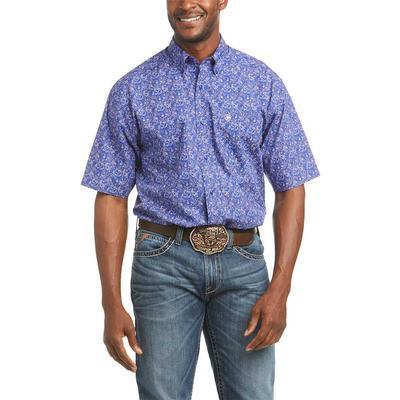 Ariat Men's Short Sleeve Princeton Button Down