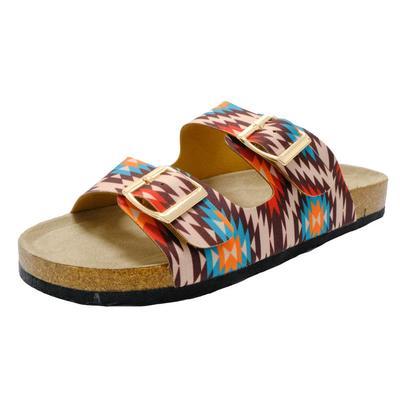Women's Aztec Print Sandals