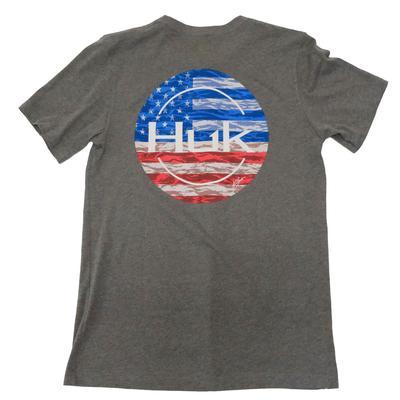 Huk Men's KC Made For Fishing Short Sleeve