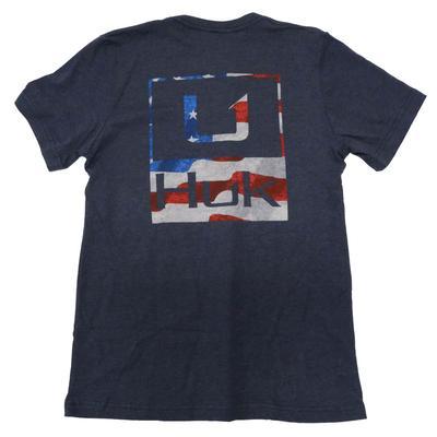 Huk Men's Americana Short Sleeve Tee