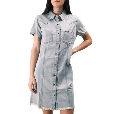 Wrangler Women's Denim Button Dress