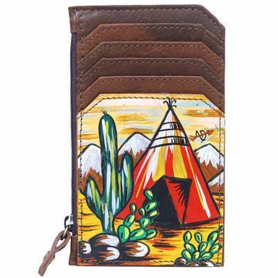 American Darling Teepee Cactus Card Holder