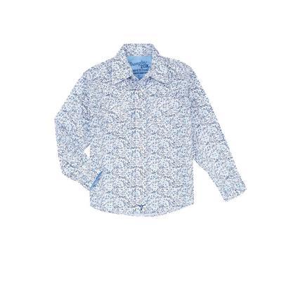 Wrangler Boy's Advanced Cowboy Shirt