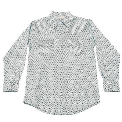 Cinch Boy's Western Snap Shirt