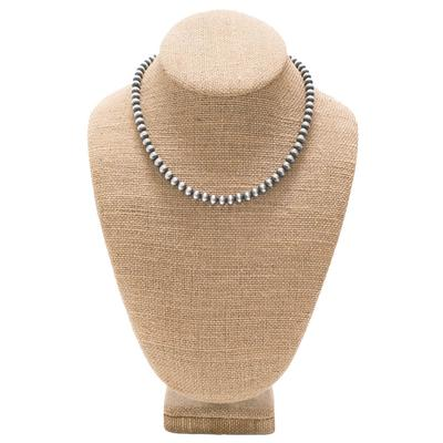 Women's Sterling Silver 16 Inch Pearl Necklace