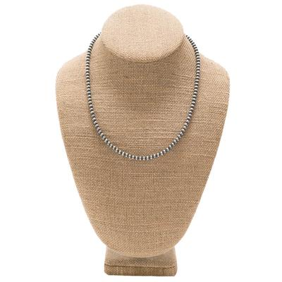 Women's Sterling Silver Polished Necklace