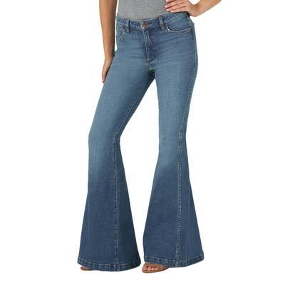 Wrangler Women's Whitley Trumpet Flare Jeans