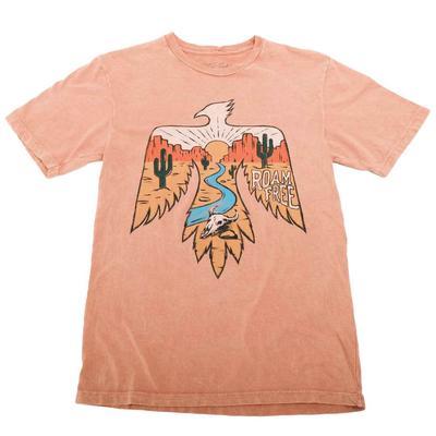 Women's Coral Roam Free Graphic T-Shirt