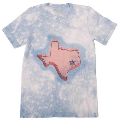 Gina Tees Women's Pink Texas T-Shirt