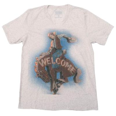 Gina Tees Women's Welcome Cowboy T-Shirt